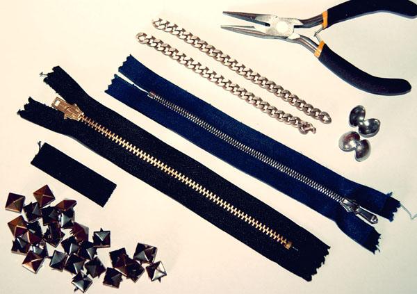 DIY Tips  Φτιάξε μόνη σου stylish βραχιόλια από φερμουάρ – Tsouxtres ... 492959acac6